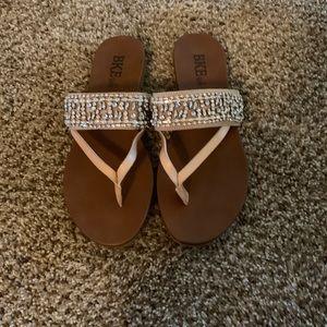 Tan BKE sandals. NWOT